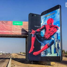 OPPO creates the biggest outdoor advertising space in Egypt