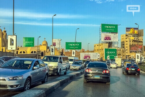 OPPO launches [F1S] from Cairo with a new OOH strategy-00
