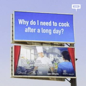 AKAM evolves OOH campaign for Scenario