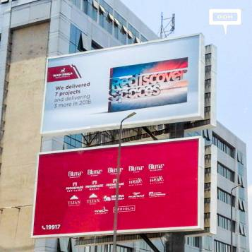 Wadi Degla positions the brand with OOH branding campaign
