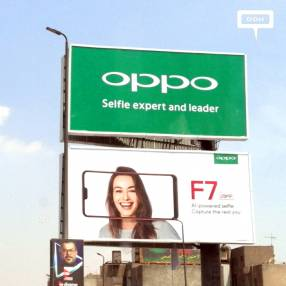 OPPO extends OOH campaign for F7