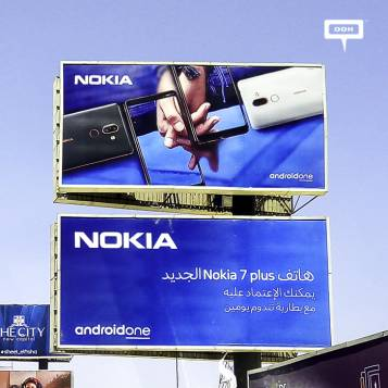 Nokia presents 7 Plus with OOH campaign