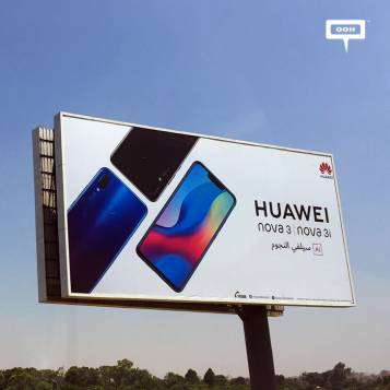 Huawei launches limited OOH campaign for Nova 3