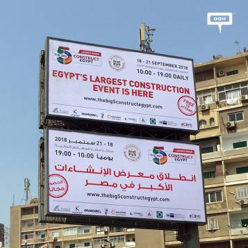 New OOH campaign announces The Big 5 Construct Egypt