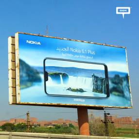 New outdoor campaign for Nokia 6.1 Plus