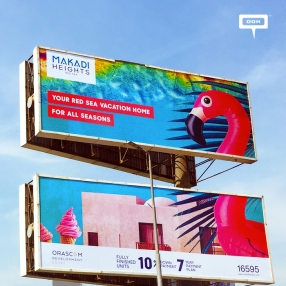 Makadi Heights reappears on the billboards full of color