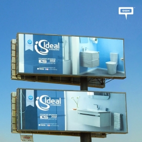 Ideal Standard reinforces participation at ICS with OOH campaign
