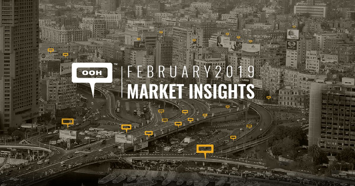 Egypt's OOH market continues to rise during February