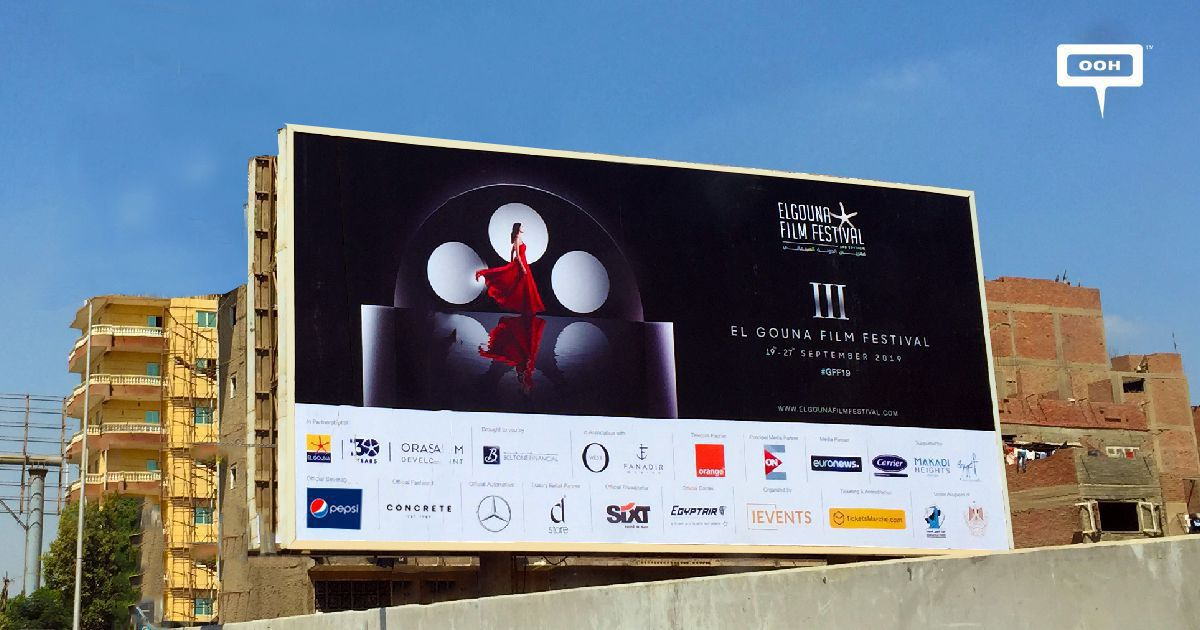 GFF countdowns to its third edition on an OOH campaign
